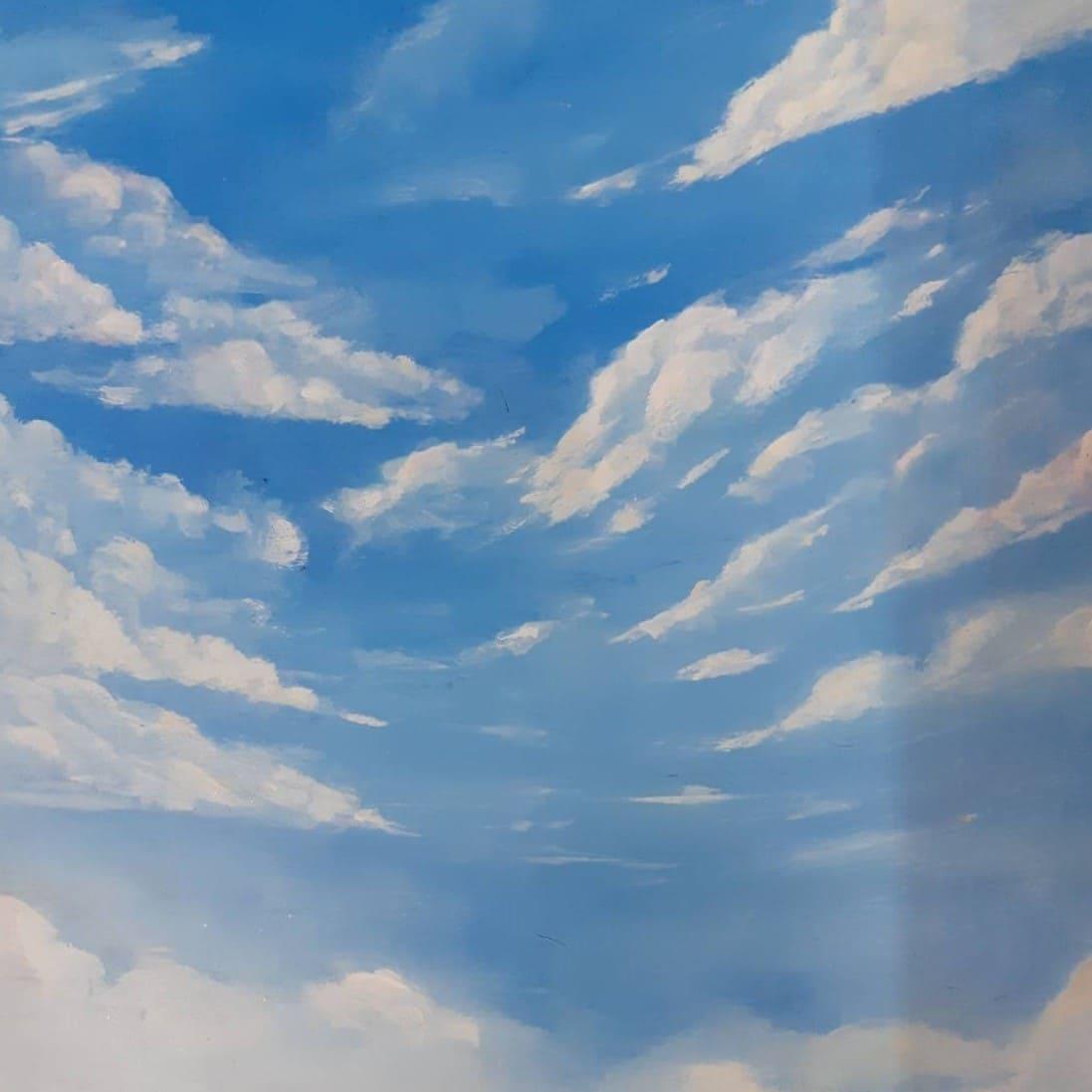 เพ้นท์ทองฟ้า Sky Paint