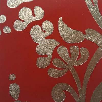 ลายแผ่นทอง Stencil Gold Leaf
