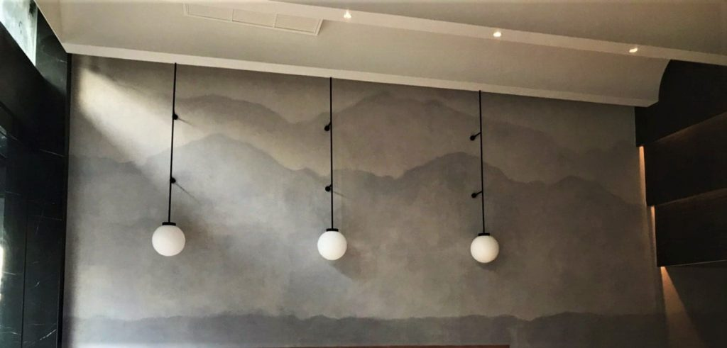 สีเทคเจอร์ Decorative paint Cemento Smooth and Art Pint