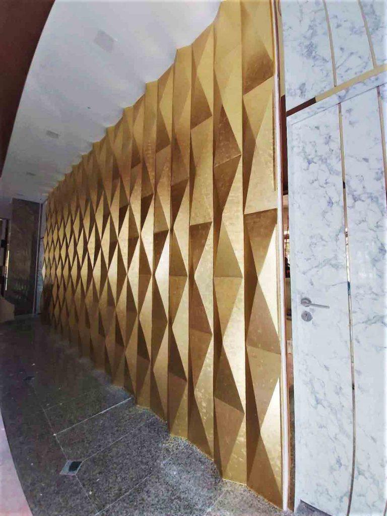 Karat Gold Leaf ปิดแผ่นทองเค - Crystal Palace Pattaya